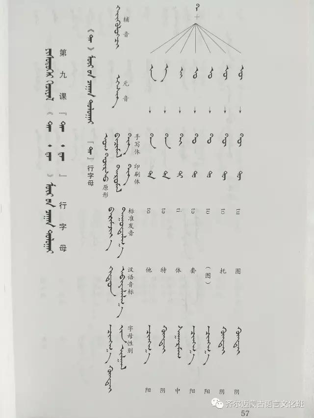 学蒙古语的人很多,学蒙古语的书籍有哪些?┃回顾50年代至今学蒙古语的书籍(2) 第98张