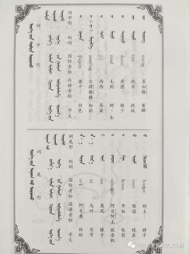 学蒙古语的人很多,学蒙古语的书籍有哪些?┃回顾50年代至今学蒙古语的书籍(3) 第22张 学蒙古语的人很多,学蒙古语的书籍有哪些?┃回顾50年代至今学蒙古语的书籍(3) 蒙古文化