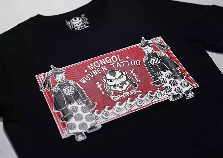 「無南icon」细数無南刺青当中出现过的蒙古人物形象 第5张 「無南icon」细数無南刺青当中出现过的蒙古人物形象 蒙古画廊