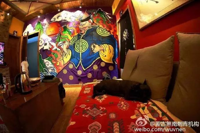 「無南icon」细数無南刺青当中出现过的蒙古人物形象 第7张 「無南icon」细数無南刺青当中出现过的蒙古人物形象 蒙古画廊