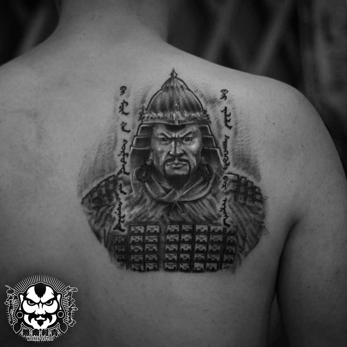 「無南icon」细数無南刺青当中出现过的蒙古人物形象 第31张 「無南icon」细数無南刺青当中出现过的蒙古人物形象 蒙古画廊