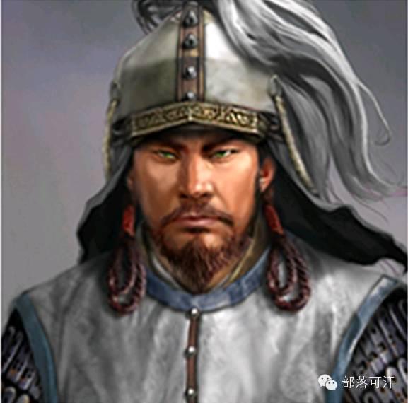 一个韩国人画的蒙古帝国人物头像 第3张 一个韩国人画的蒙古帝国人物头像 蒙古文化