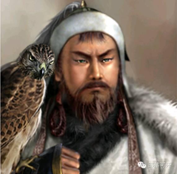 一个韩国人画的蒙古帝国人物头像 第1张 一个韩国人画的蒙古帝国人物头像 蒙古文化