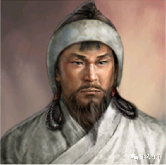 一个韩国人画的蒙古帝国人物头像 第7张 一个韩国人画的蒙古帝国人物头像 蒙古文化