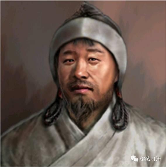 一个韩国人画的蒙古帝国人物头像 第9张 一个韩国人画的蒙古帝国人物头像 蒙古文化