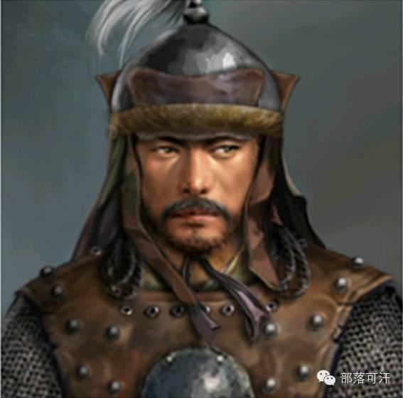 一个韩国人画的蒙古帝国人物头像 第13张 一个韩国人画的蒙古帝国人物头像 蒙古文化