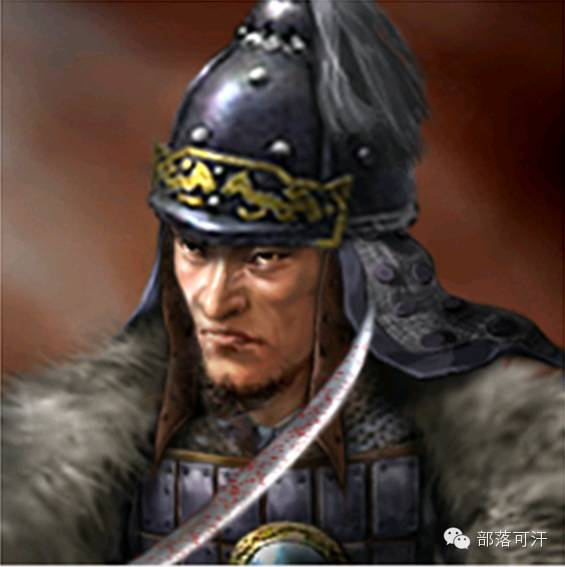 一个韩国人画的蒙古帝国人物头像 第12张 一个韩国人画的蒙古帝国人物头像 蒙古文化