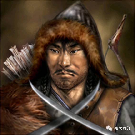一个韩国人画的蒙古帝国人物头像 第17张 一个韩国人画的蒙古帝国人物头像 蒙古文化
