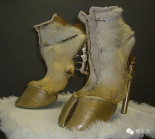 【蒙古设计师作品】这样的马蹄鞋,你想拥有吗? 第8张