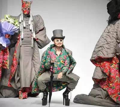 【时尚先锋】惊艳戛纳的花袄出自他手  蒙古族设计师胡社光 第6张