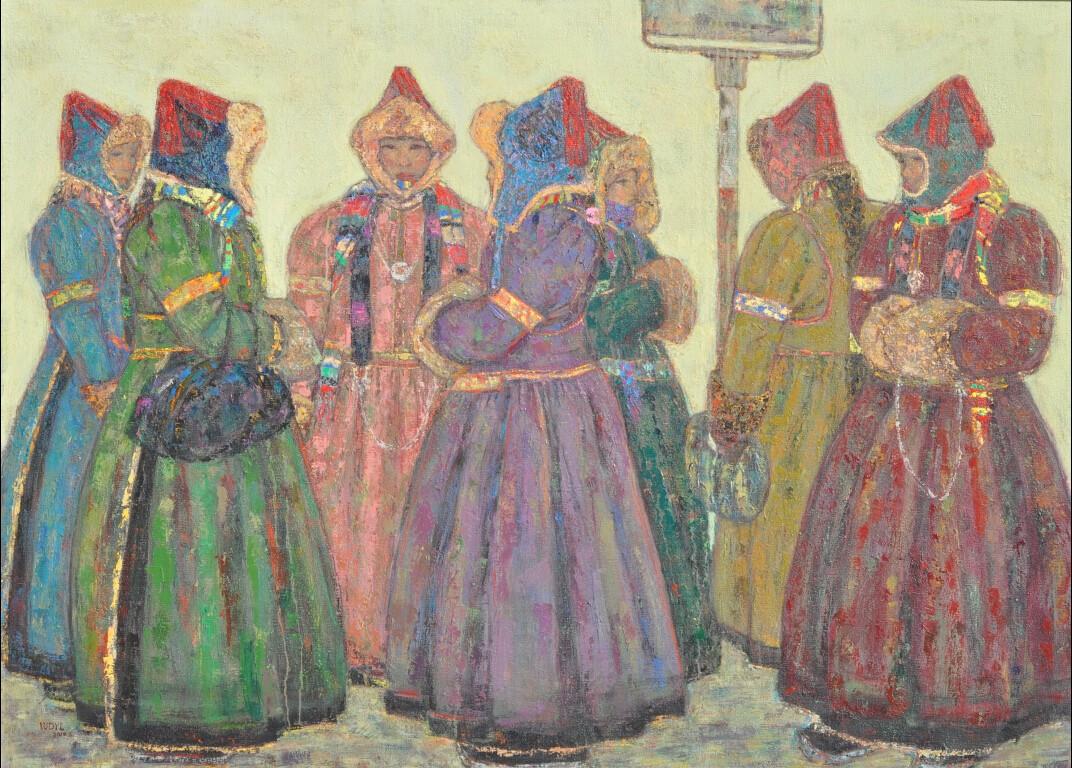 内蒙古草原油画院画家--王都一乐 第4张 内蒙古草原油画院画家--王都一乐 蒙古画廊
