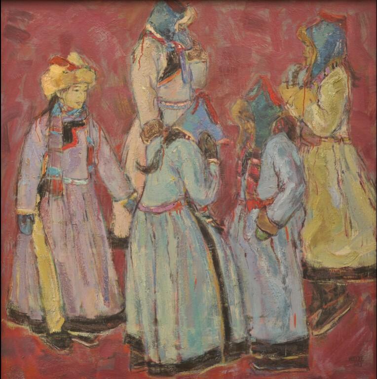 内蒙古草原油画院画家--王都一乐 第11张 内蒙古草原油画院画家--王都一乐 蒙古画廊