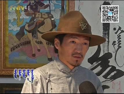 """蒙古国年轻画家展现文字艺术:  蒙古文字在他笔下""""活""""起来了 第12张"""