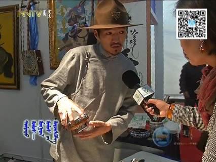 """蒙古国年轻画家展现文字艺术:  蒙古文字在他笔下""""活""""起来了 第15张"""