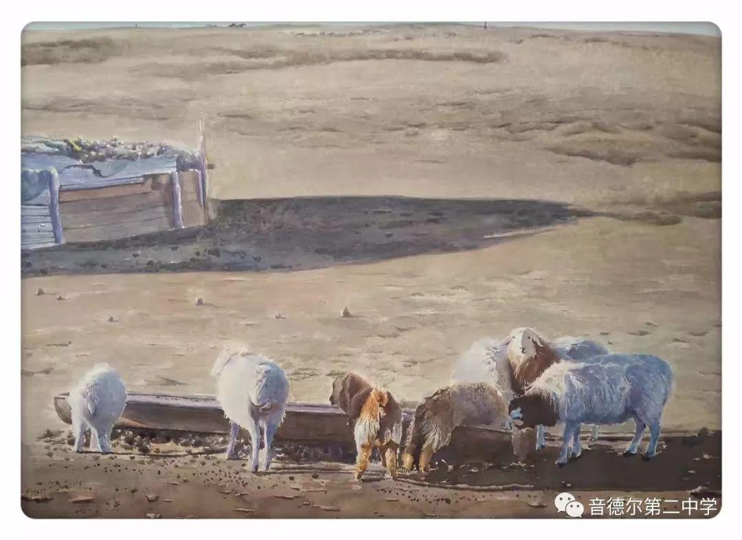 【关注】一位90后美术教师的初心与担当 第4张 【关注】一位90后美术教师的初心与担当 蒙古画廊