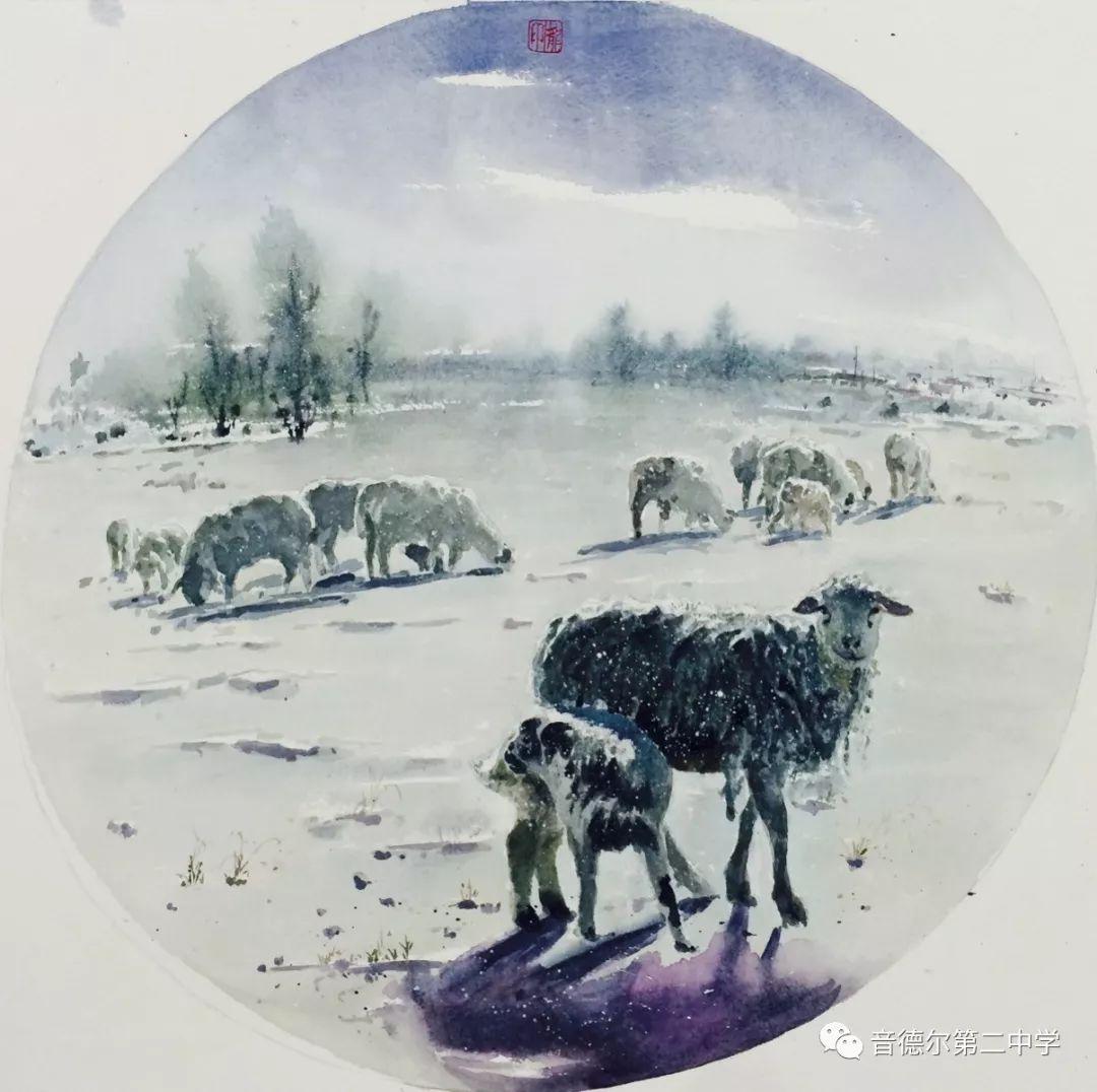 【关注】一位90后美术教师的初心与担当 第9张 【关注】一位90后美术教师的初心与担当 蒙古画廊