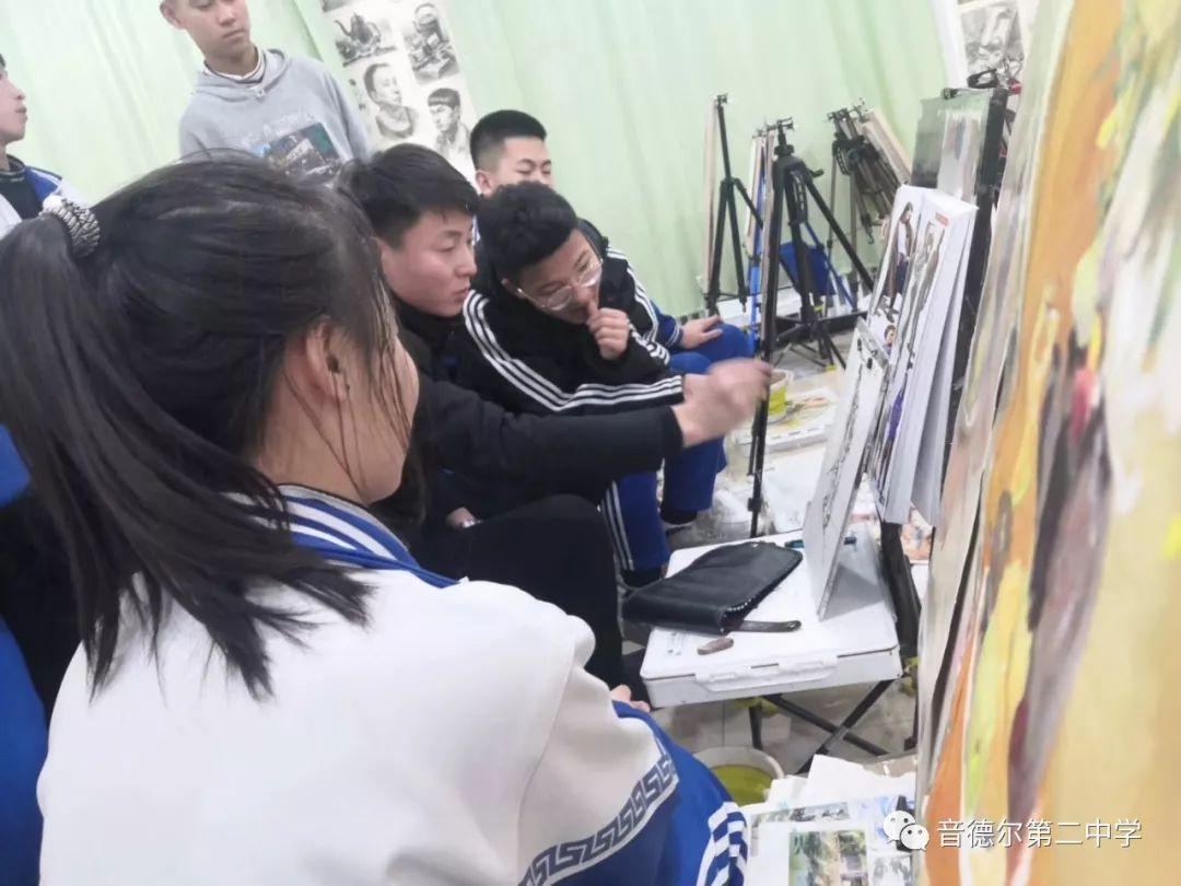 【关注】一位90后美术教师的初心与担当 第29张 【关注】一位90后美术教师的初心与担当 蒙古画廊