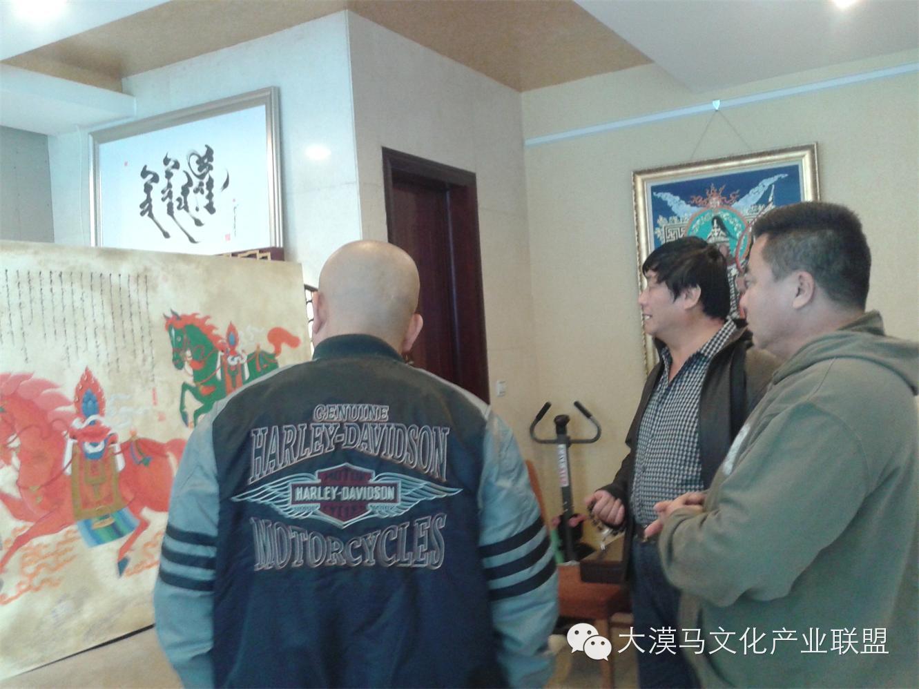 大召当代艺术中心蒙古国画家【拉·苏和巴特尔】 第3张 大召当代艺术中心蒙古国画家【拉·苏和巴特尔】 蒙古画廊