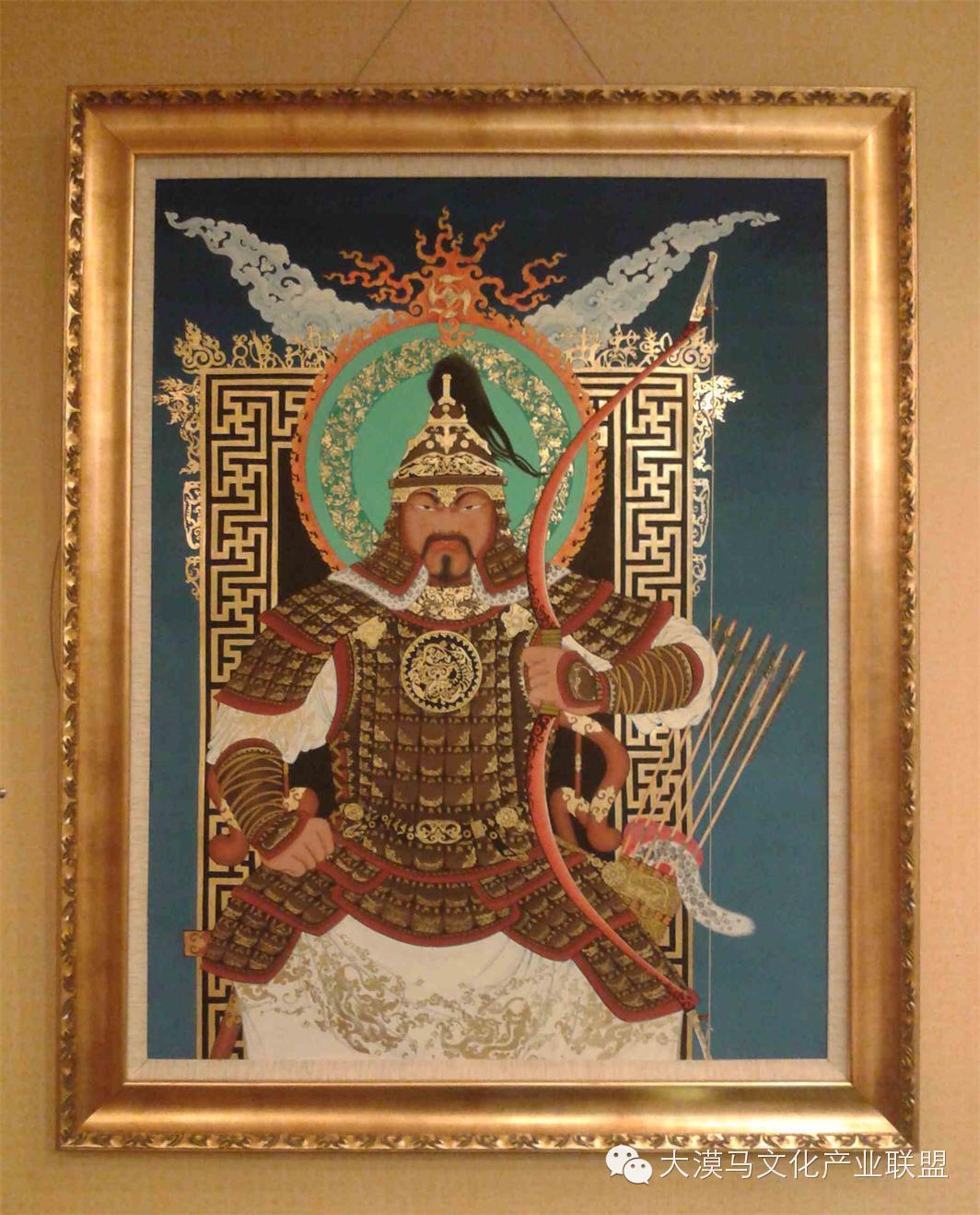 大召当代艺术中心蒙古国画家【拉·苏和巴特尔】 第4张 大召当代艺术中心蒙古国画家【拉·苏和巴特尔】 蒙古画廊
