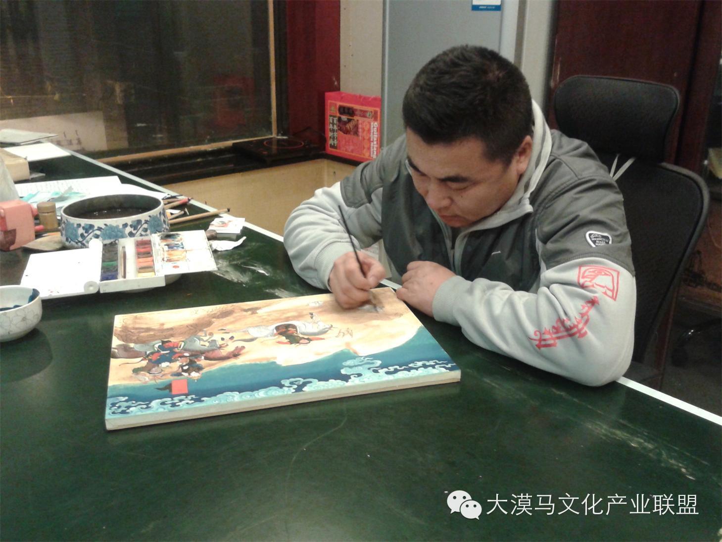 大召当代艺术中心蒙古国画家【拉·苏和巴特尔】 第6张 大召当代艺术中心蒙古国画家【拉·苏和巴特尔】 蒙古画廊