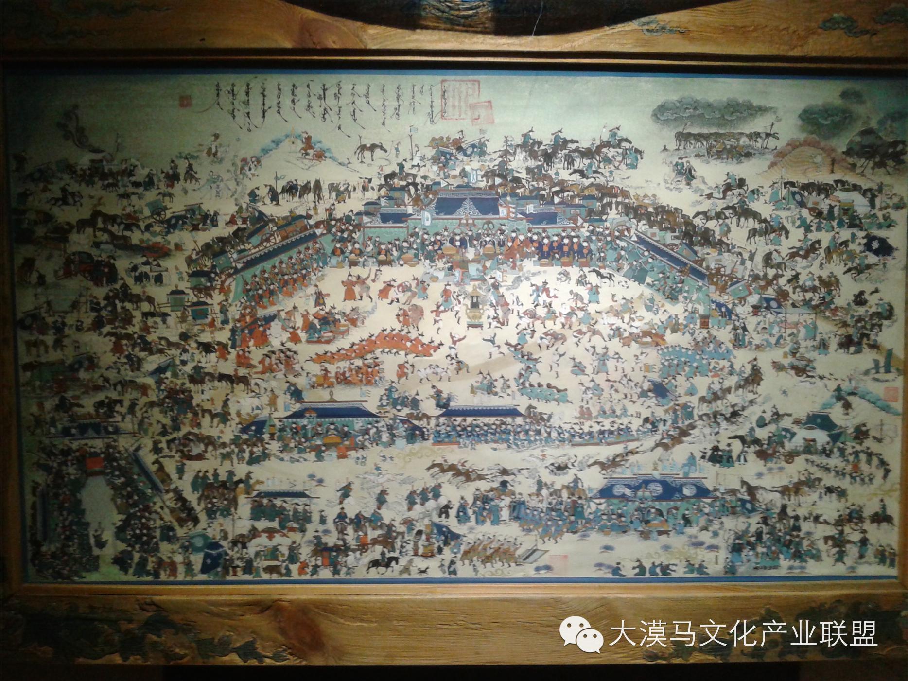 大召当代艺术中心蒙古国画家【拉·苏和巴特尔】 第8张 大召当代艺术中心蒙古国画家【拉·苏和巴特尔】 蒙古画廊