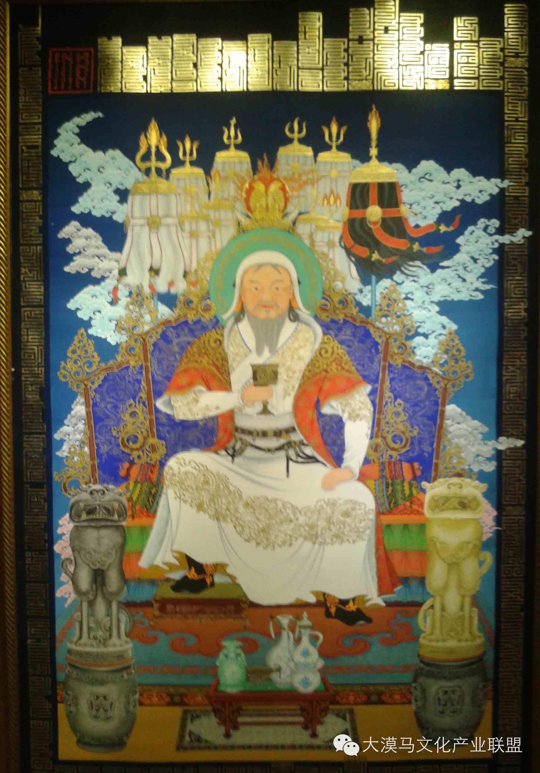 大召当代艺术中心蒙古国画家【拉·苏和巴特尔】 第10张 大召当代艺术中心蒙古国画家【拉·苏和巴特尔】 蒙古画廊