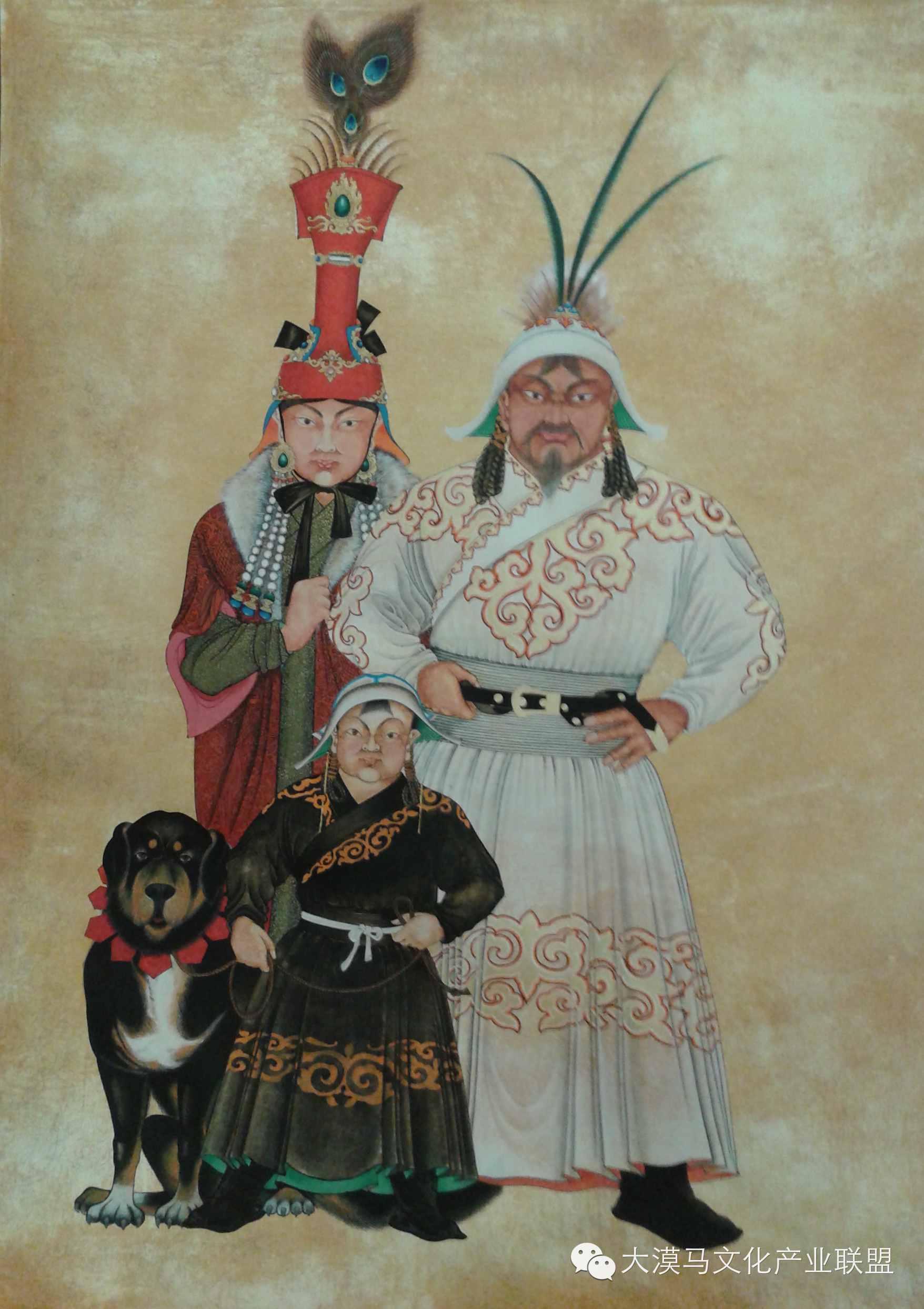 大召当代艺术中心蒙古国画家【拉·苏和巴特尔】 第9张 大召当代艺术中心蒙古国画家【拉·苏和巴特尔】 蒙古画廊