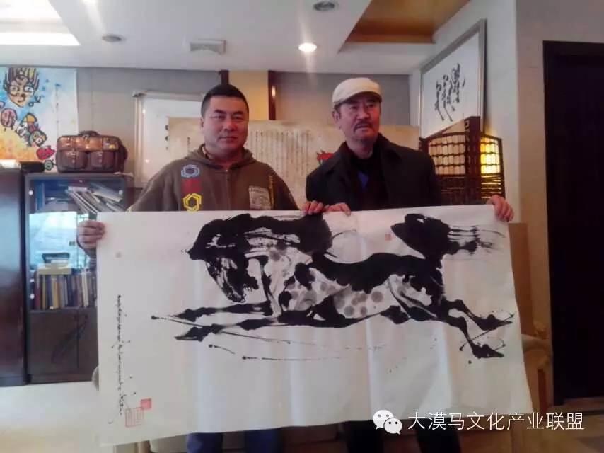大召当代艺术中心蒙古国画家【拉·苏和巴特尔】 第16张 大召当代艺术中心蒙古国画家【拉·苏和巴特尔】 蒙古画廊