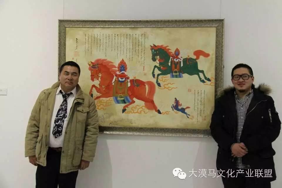 大召当代艺术中心蒙古国画家【拉·苏和巴特尔】 第18张 大召当代艺术中心蒙古国画家【拉·苏和巴特尔】 蒙古画廊