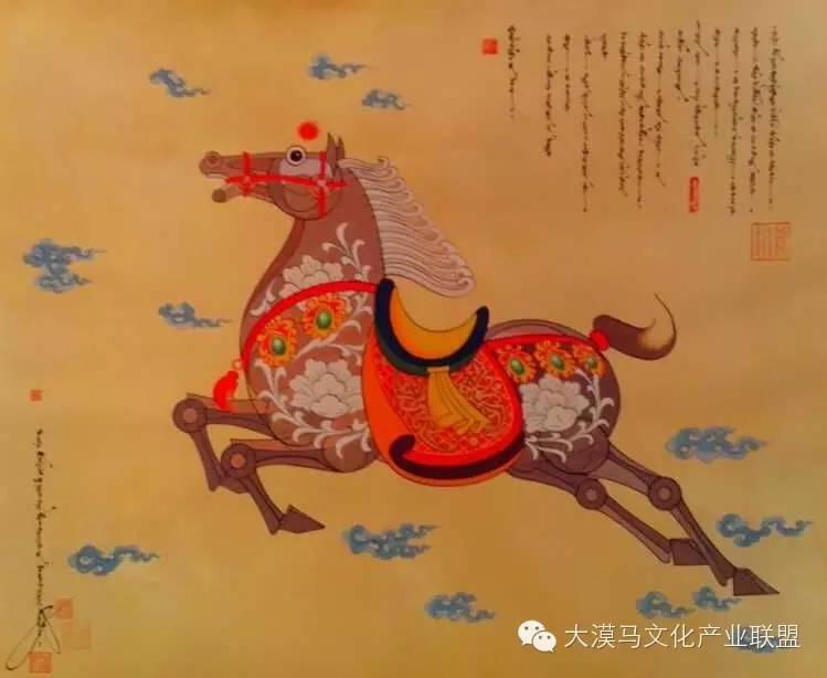 大召当代艺术中心蒙古国画家【拉·苏和巴特尔】 第24张 大召当代艺术中心蒙古国画家【拉·苏和巴特尔】 蒙古画廊
