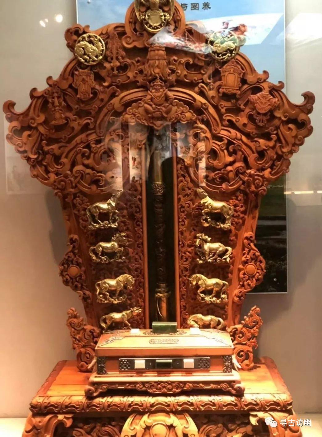 内蒙古锡林浩特博物馆 第15张 内蒙古锡林浩特博物馆 蒙古工艺