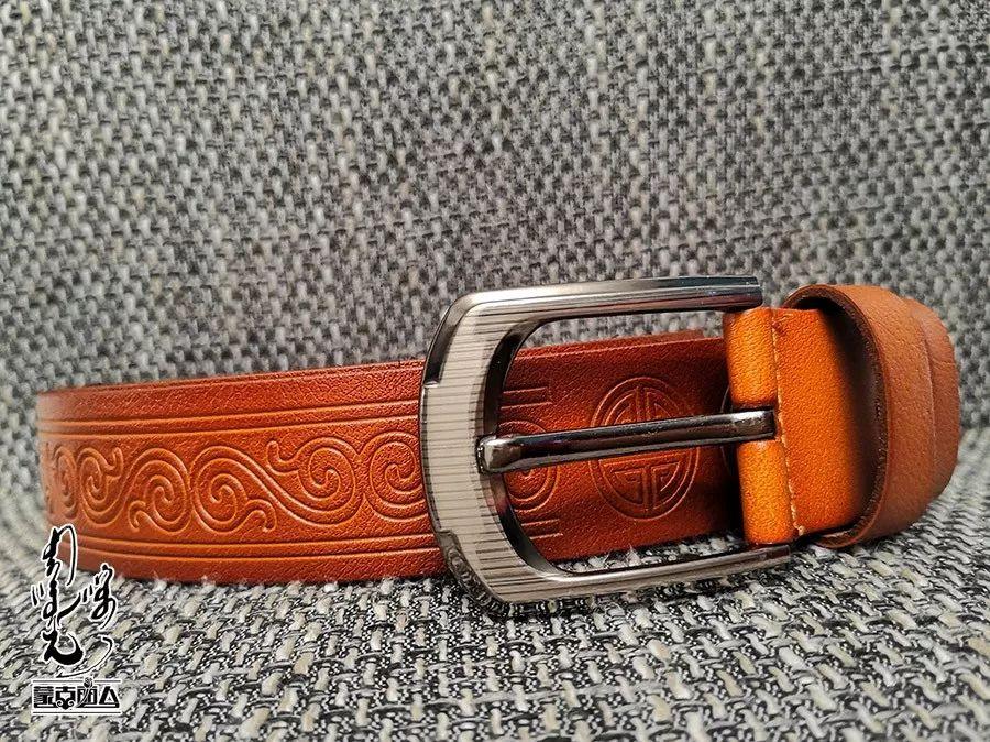 【蒙古时尚】蒙古风皮带 | 属于男人的第二张脸 内附新年礼物哦 第4张