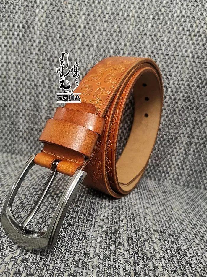 【蒙古时尚】蒙古风皮带 | 属于男人的第二张脸 内附新年礼物哦 第9张