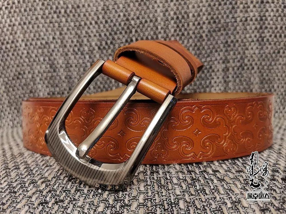 【蒙古时尚】蒙古风皮带 | 属于男人的第二张脸 内附新年礼物哦 第12张