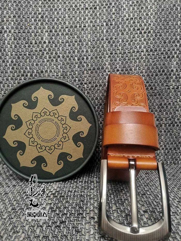 【蒙古时尚】蒙古风皮带 | 属于男人的第二张脸 内附新年礼物哦 第11张