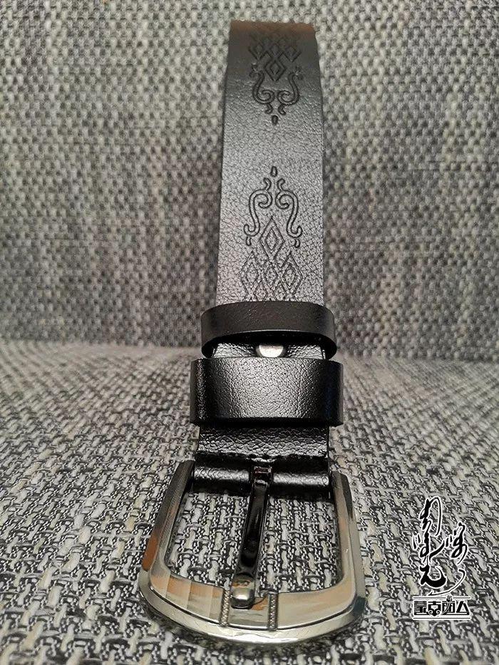 【蒙古时尚】蒙古风皮带 | 属于男人的第二张脸 内附新年礼物哦 第14张