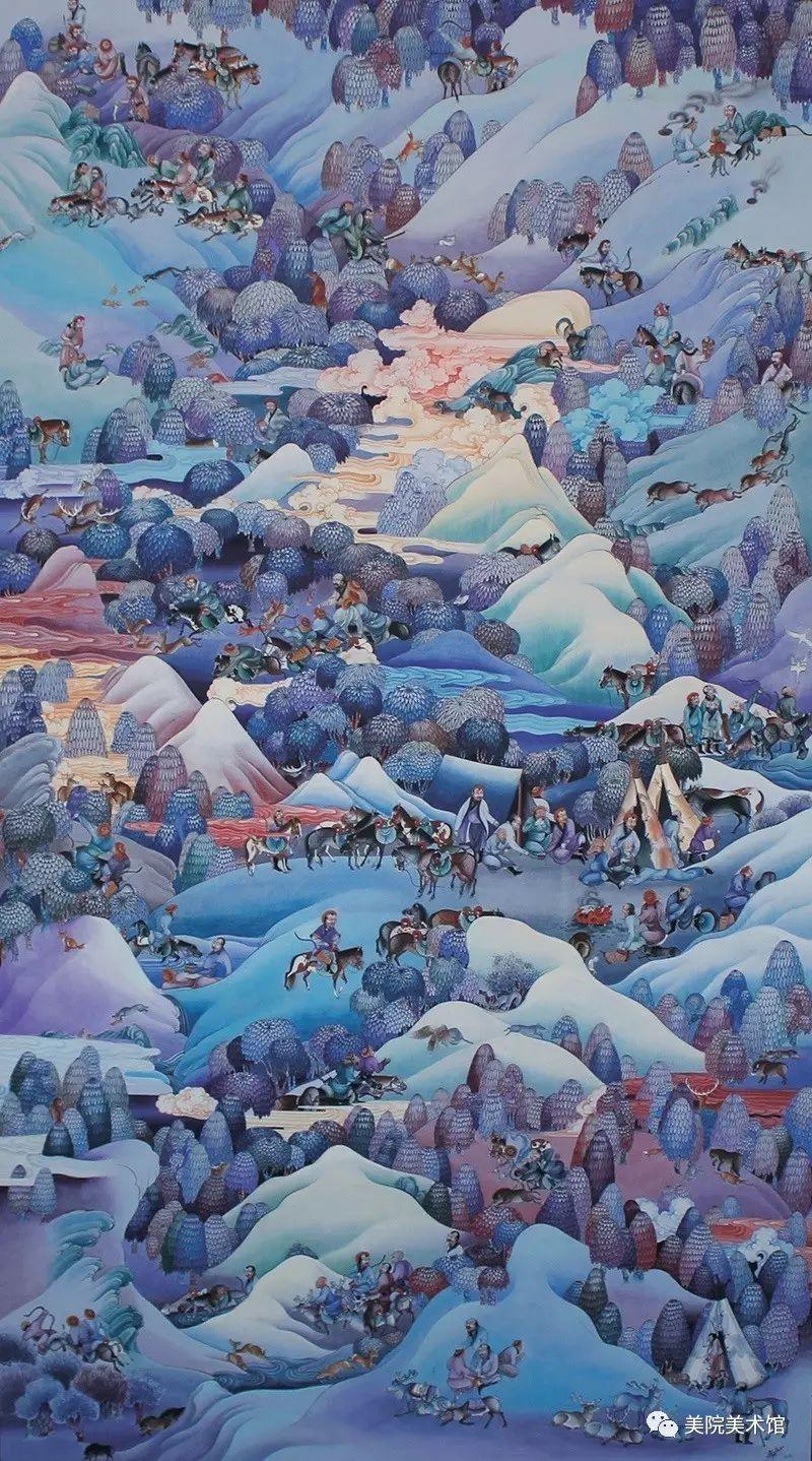 展览|蒙古国艺术家作品展 第4张