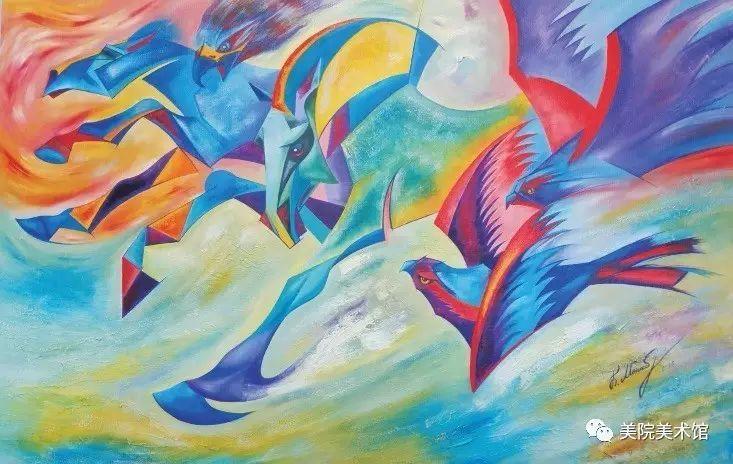 展览|蒙古国艺术家作品展 第5张