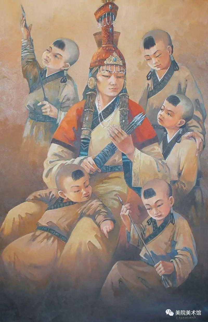 展览|蒙古国艺术家作品展 第7张 展览|蒙古国艺术家作品展 蒙古画廊