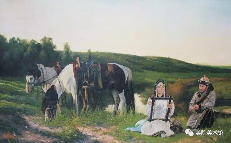 展览|蒙古国艺术家作品展 第8张 展览|蒙古国艺术家作品展 蒙古画廊