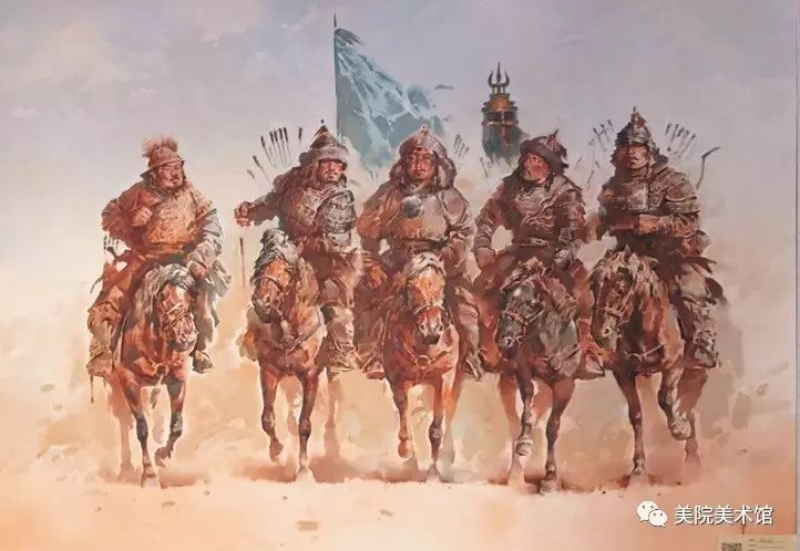 展览|蒙古国艺术家作品展 第6张 展览|蒙古国艺术家作品展 蒙古画廊