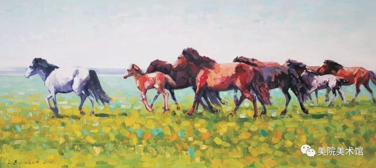 展览|蒙古国艺术家作品展 第9张
