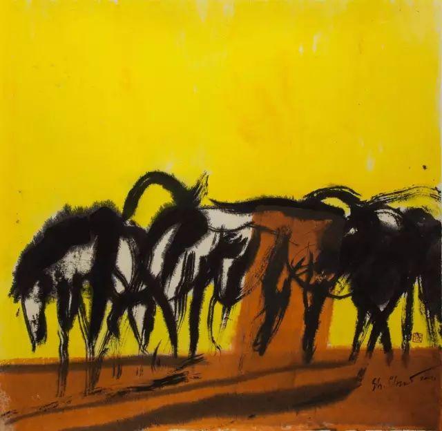 蒙古最受国际注目的当代艺术家:齐沐德 第11张