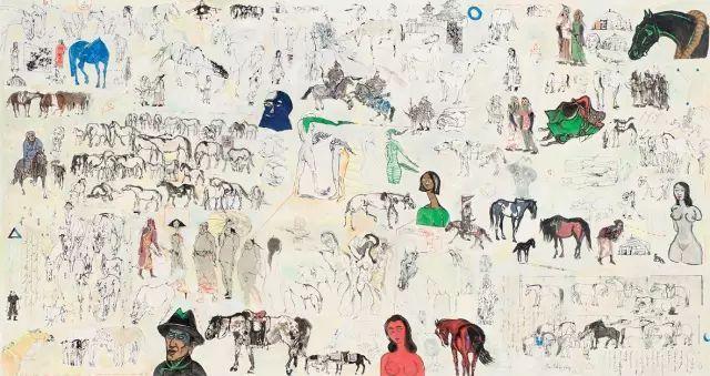 蒙古最受国际注目的当代艺术家:齐沐德 第13张