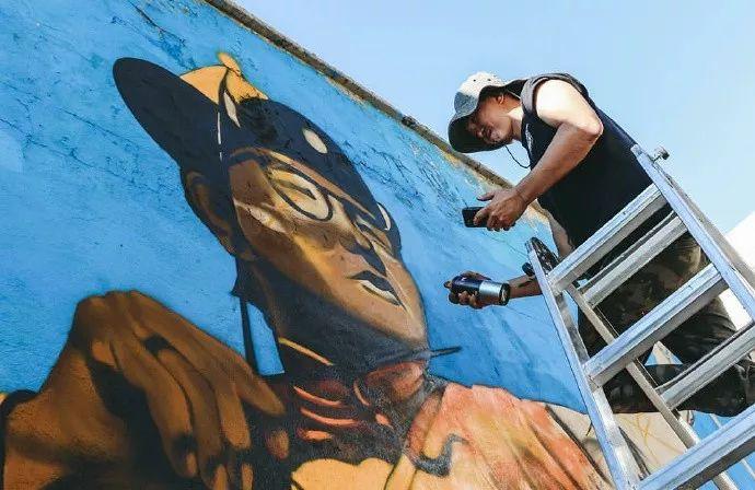 蒙古街头涂鸦艺术家heescco  第6张