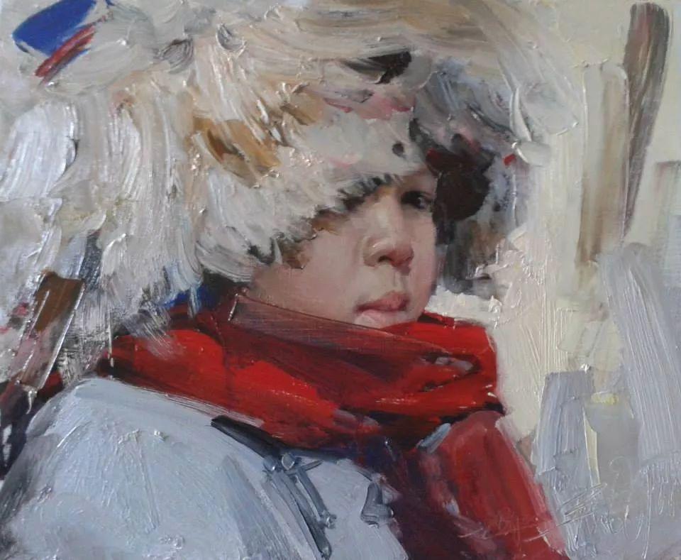 蒙古青年艺术家Otgontuvden油画作品欣赏 第4张 蒙古青年艺术家Otgontuvden油画作品欣赏 蒙古画廊
