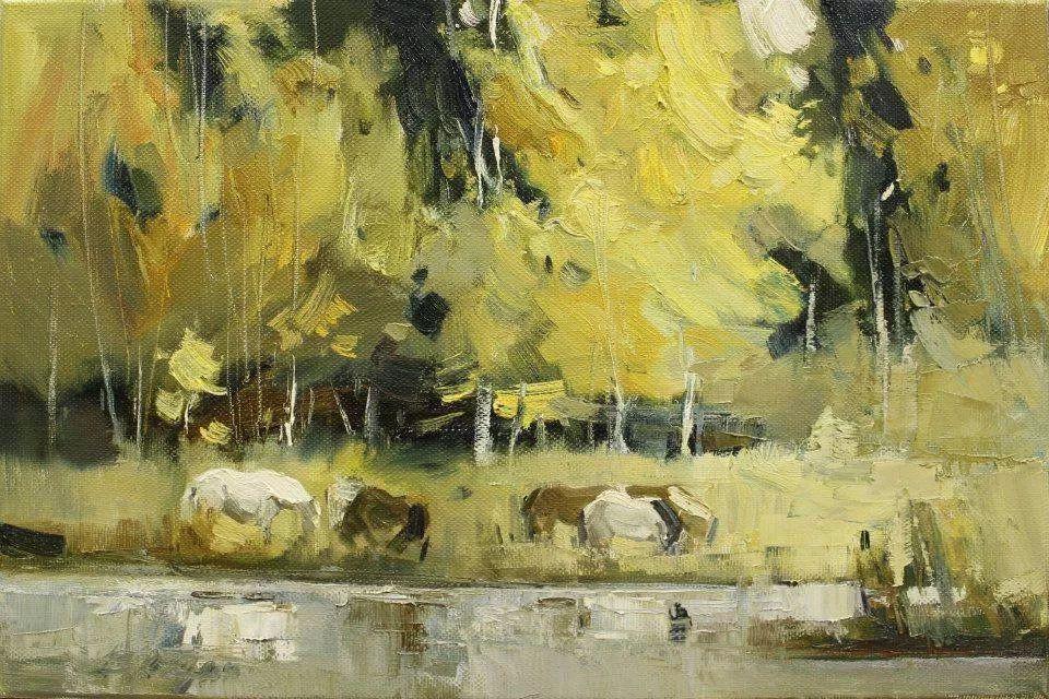 蒙古青年艺术家Otgontuvden油画作品欣赏 第3张 蒙古青年艺术家Otgontuvden油画作品欣赏 蒙古画廊
