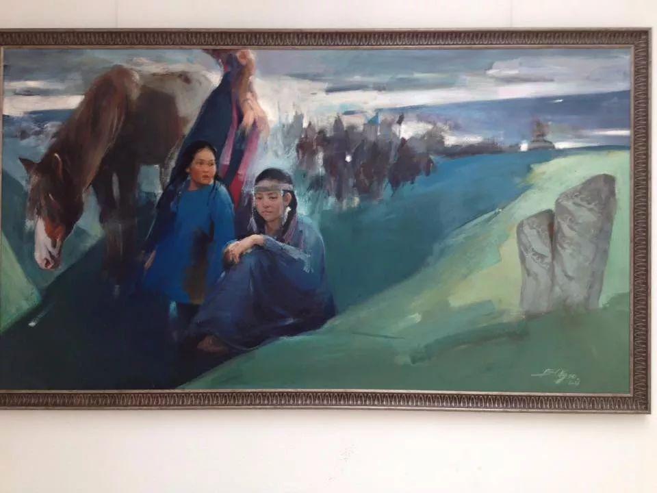 蒙古青年艺术家Otgontuvden油画作品欣赏 第10张 蒙古青年艺术家Otgontuvden油画作品欣赏 蒙古画廊