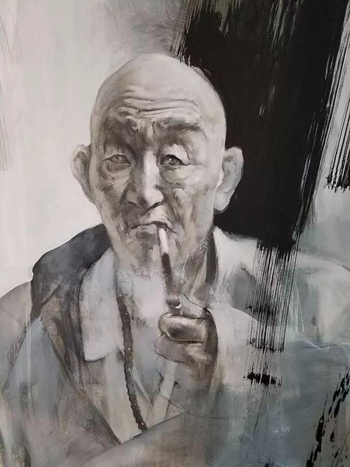蒙古青年艺术家Otgontuvden油画作品欣赏 第14张 蒙古青年艺术家Otgontuvden油画作品欣赏 蒙古画廊