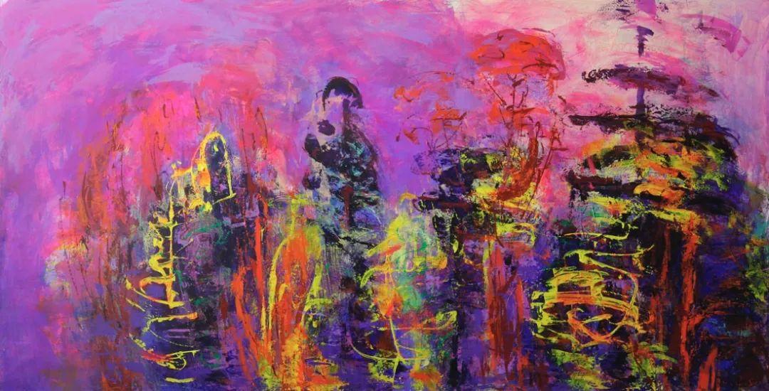蒙古青年艺术家Otgontuvden油画作品欣赏 第15张 蒙古青年艺术家Otgontuvden油画作品欣赏 蒙古画廊